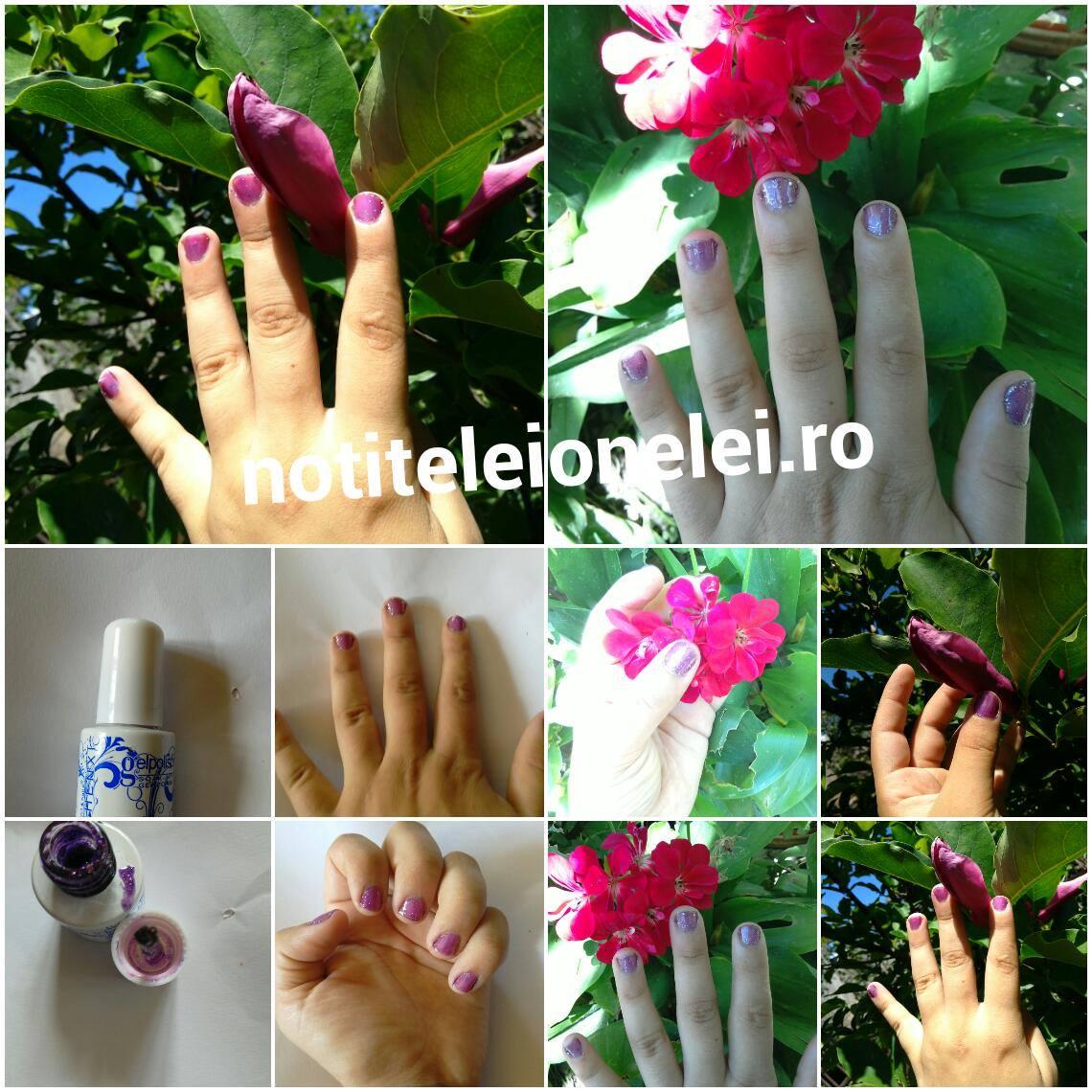 28 Colors 6ml Soak Off UV Gel Nail Art Polish Shiny Glitter Varnish Newchic