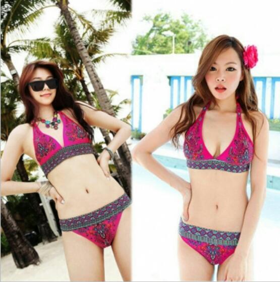 Red N4U8 Sexy Women Bikini Beach Swimsuits Indian Beachwear1 Swimwear Swim Wear