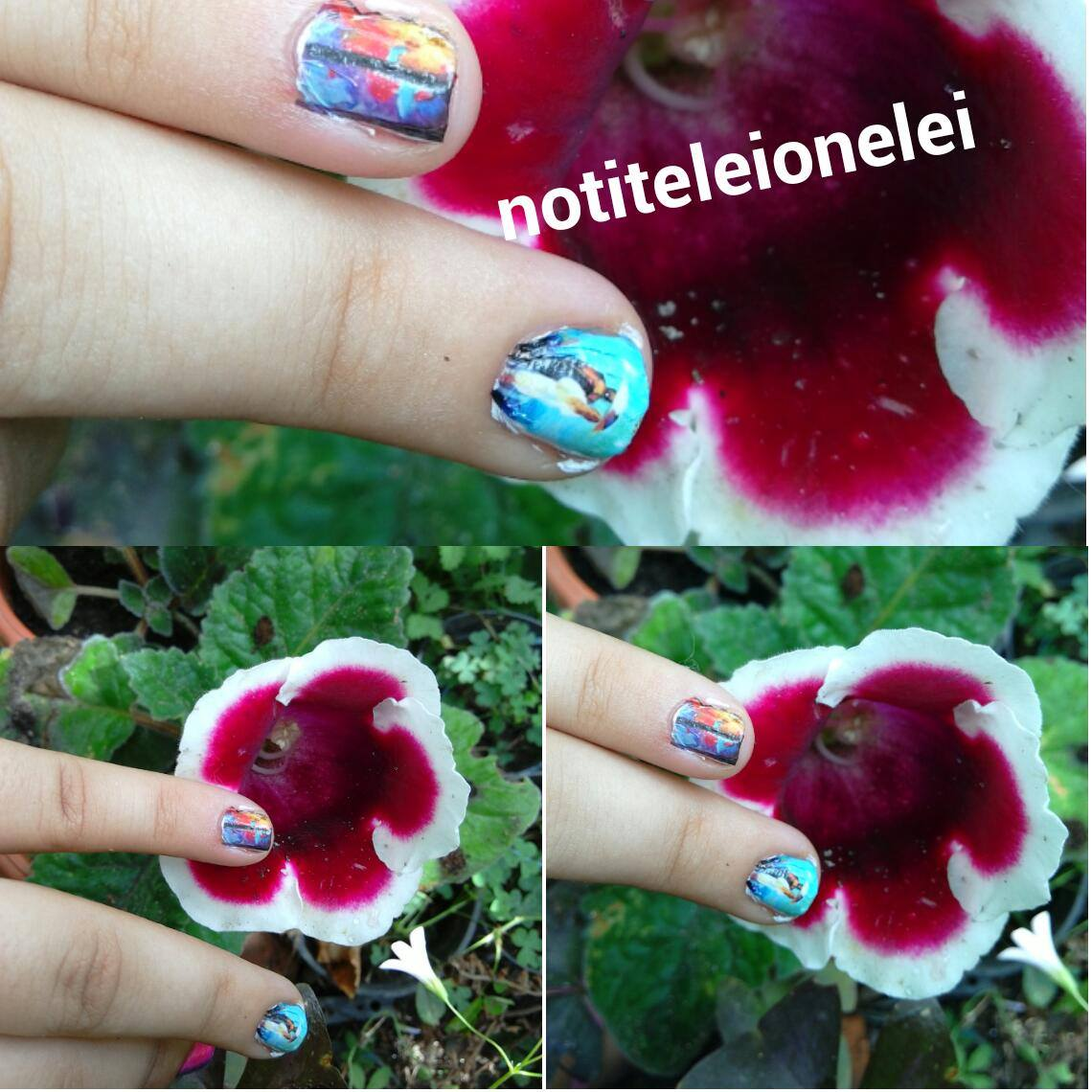 6 Types Flower Water Transfer Nail Art Stickers Decal DIY Tips NO.:04 newchic