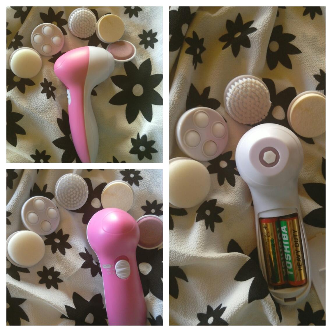 Micro Vibrate Facial Massager Roller Ion Anti-wrinkle Sliming Face Care Clean Tool newchic