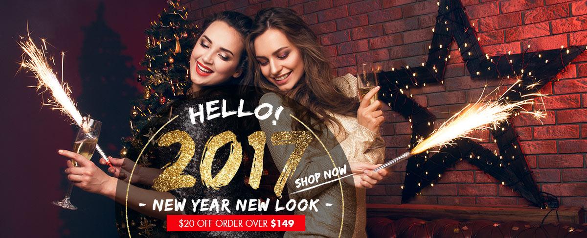 The last newchic wishlist Before 2017!