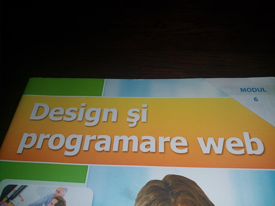 Curs de Design și Programare Web de la Eurocor – Modulul 6