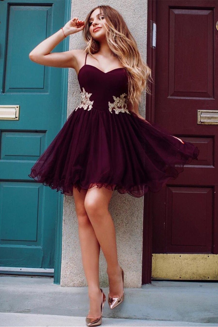 Short prom dress from Angrila.com