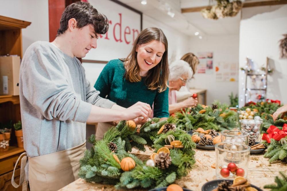 Christmas Special sau colectia de flori criogenate ce iti vor face floraria populara